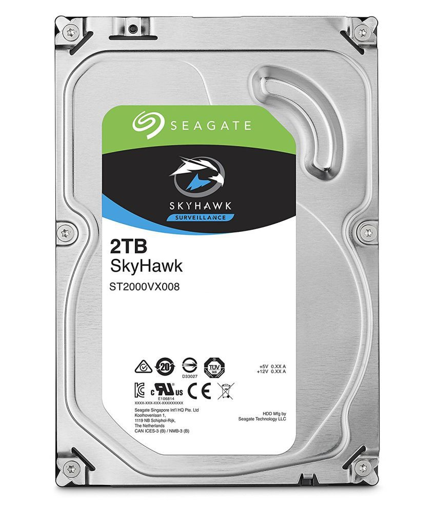 Seagate ST2000VX008 2 TB Internal Hard Drive Internal Hard drive