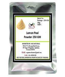 MG Naturals LEMON PEEL POWDER (250 GM) FACE PACK BRIGHTENING SKIN ANTIAGING FAIRNESS SKIN CARE Facial Kit Gm