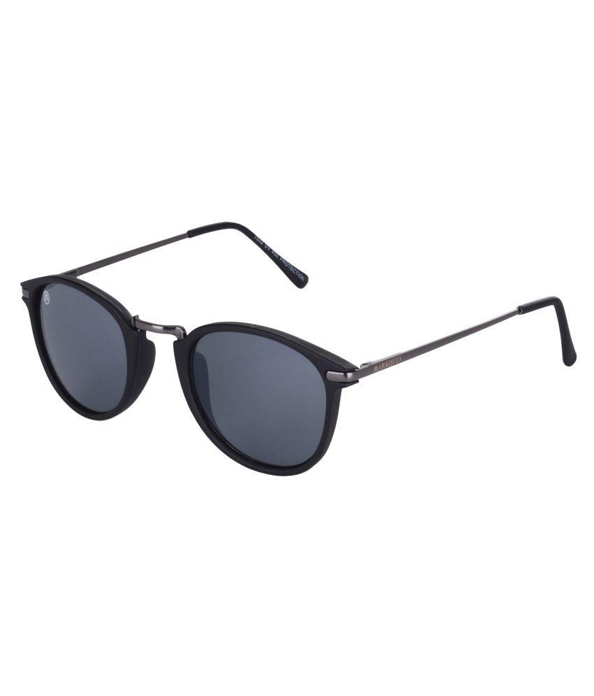 Markques Black Oval Sunglasses ( Ocean )
