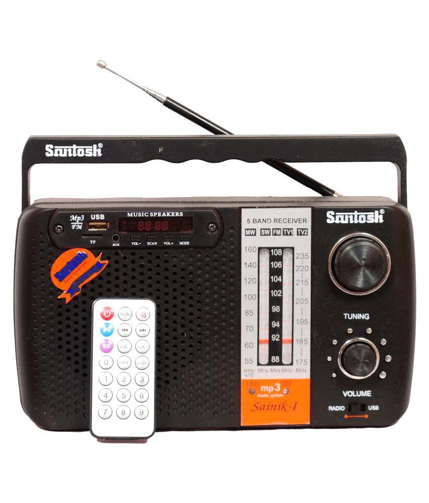 618c10e6b56 Buy Santosh Sainik FM Radio Players Online at Best Price in India - Snapdeal