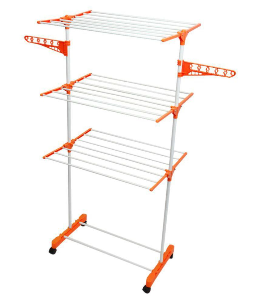 TNC White Cleaning Cloths Drying Stand