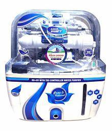 Deal Aquagrand AQUA SWIFT RO+UF+UV+MINERAL+TDS CONTROLLER 10 Ltr ROUVUF Water Purifier