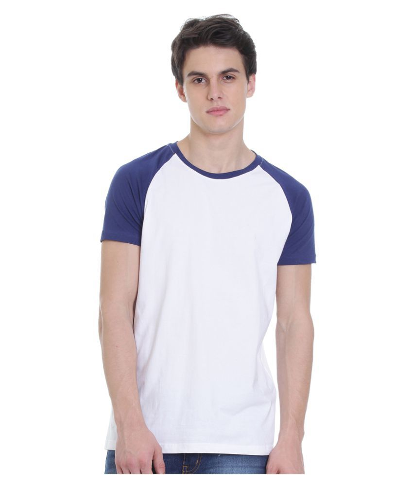 Rocx White Round T-Shirt
