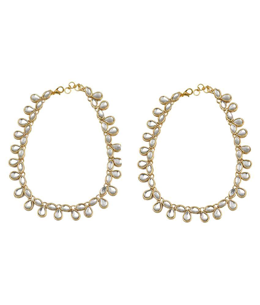 Taj Pearl Designer Anklets