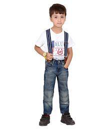 Indigen Boys Dark Blue Slim Fit Jeans