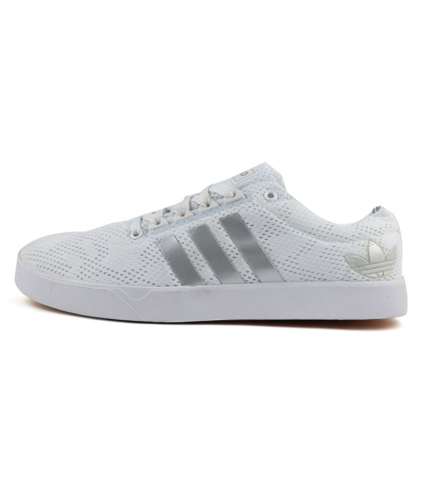 433e710dfd1d Adidas Neo 2 White Casual Shoes - Buy Adidas Neo 2 White Casual Shoes Online  at Best Prices in India on Snapdeal