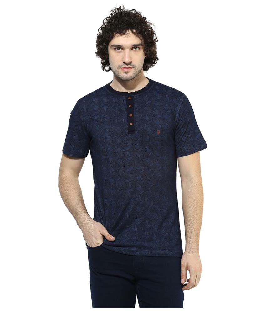 Turtle Blue Henley T-Shirt