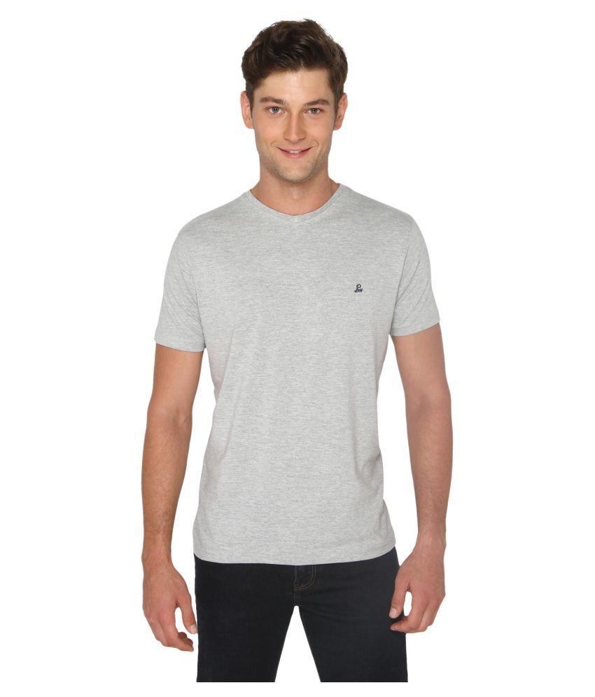 Bombay High Grey V-Neck T-Shirt