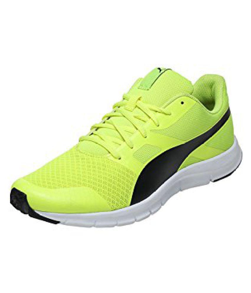 Puma Flexracer DP Yellow Running Shoes