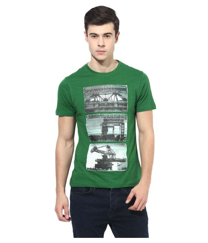 London Bridge Green Round T-Shirt