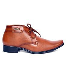 Port Tan Party Non-Leather Formal Shoes