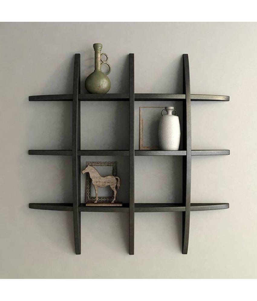 wooden art toys floating shelf wall shelf storage shelf rh snapdeal com