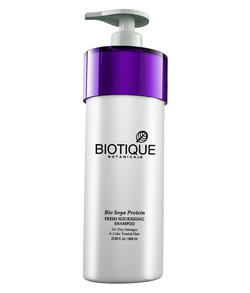 Bio Soya Protein Fresh Nourishing Shampoo For Dry Damaged Color