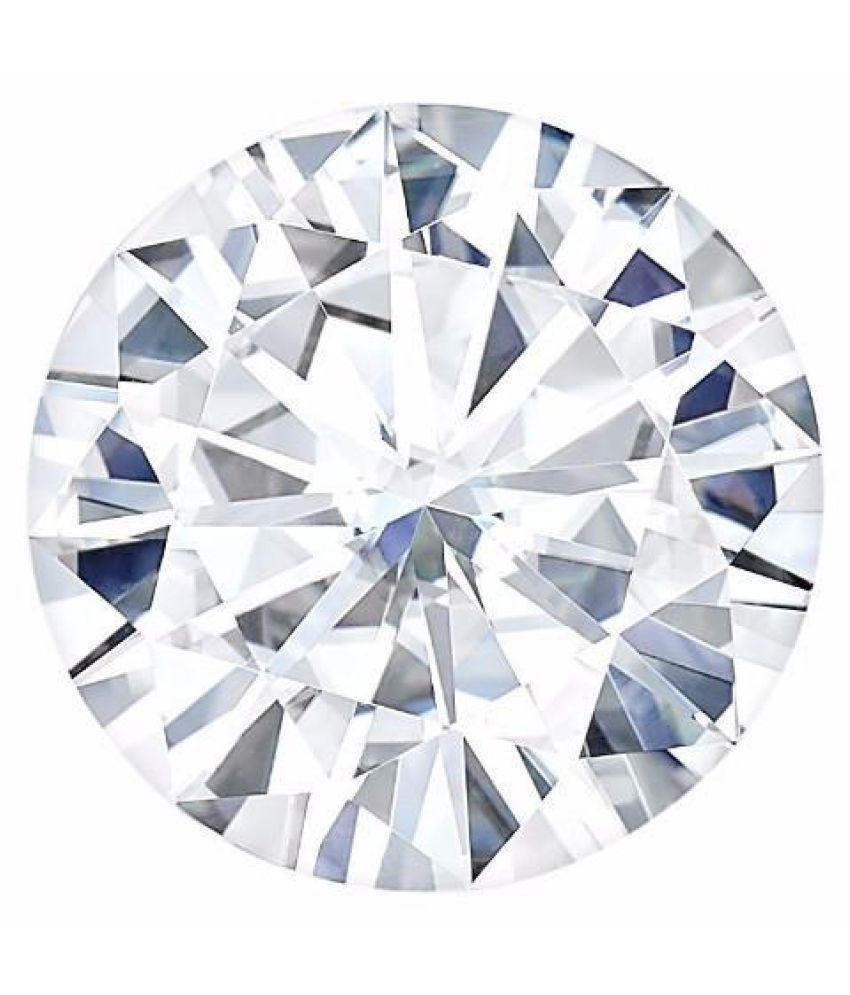Charles & Colvard (USA) Round 7.0mm Moissanite Diamond 1.20ct Equivalent  Weight