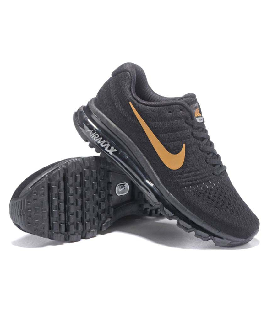 Nike Air Max 2017 Black Running Shoes - Buy Nike Air Max 2017 Black ... bddcc1d9eebf