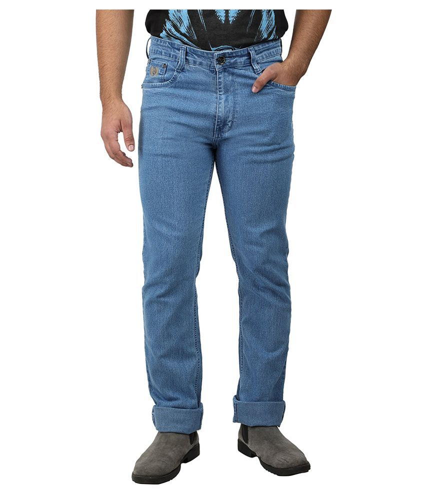 Saba Blue Regular Fit Jeans