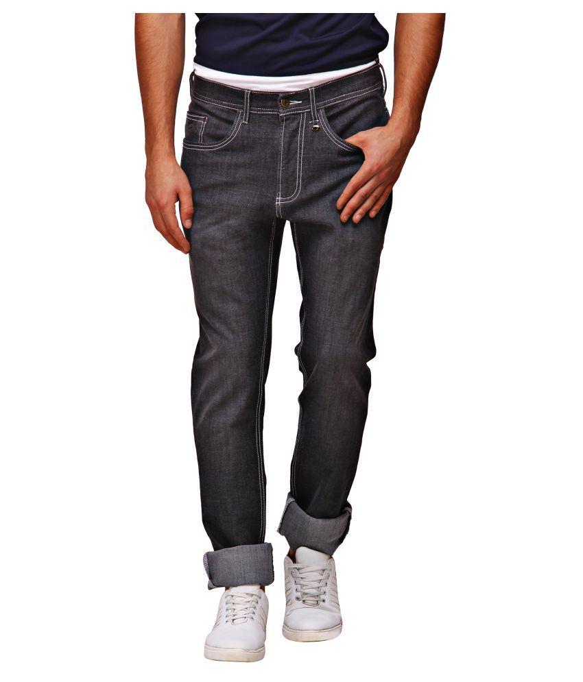 Jumpusa Grey Slim Jeans