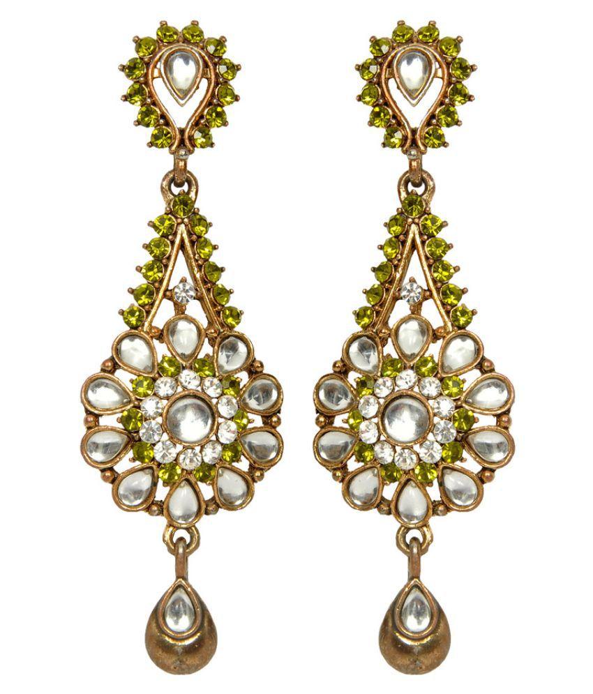 Sweety Traditional Stylish Pearl Fancy Party Wear Earrings for Women