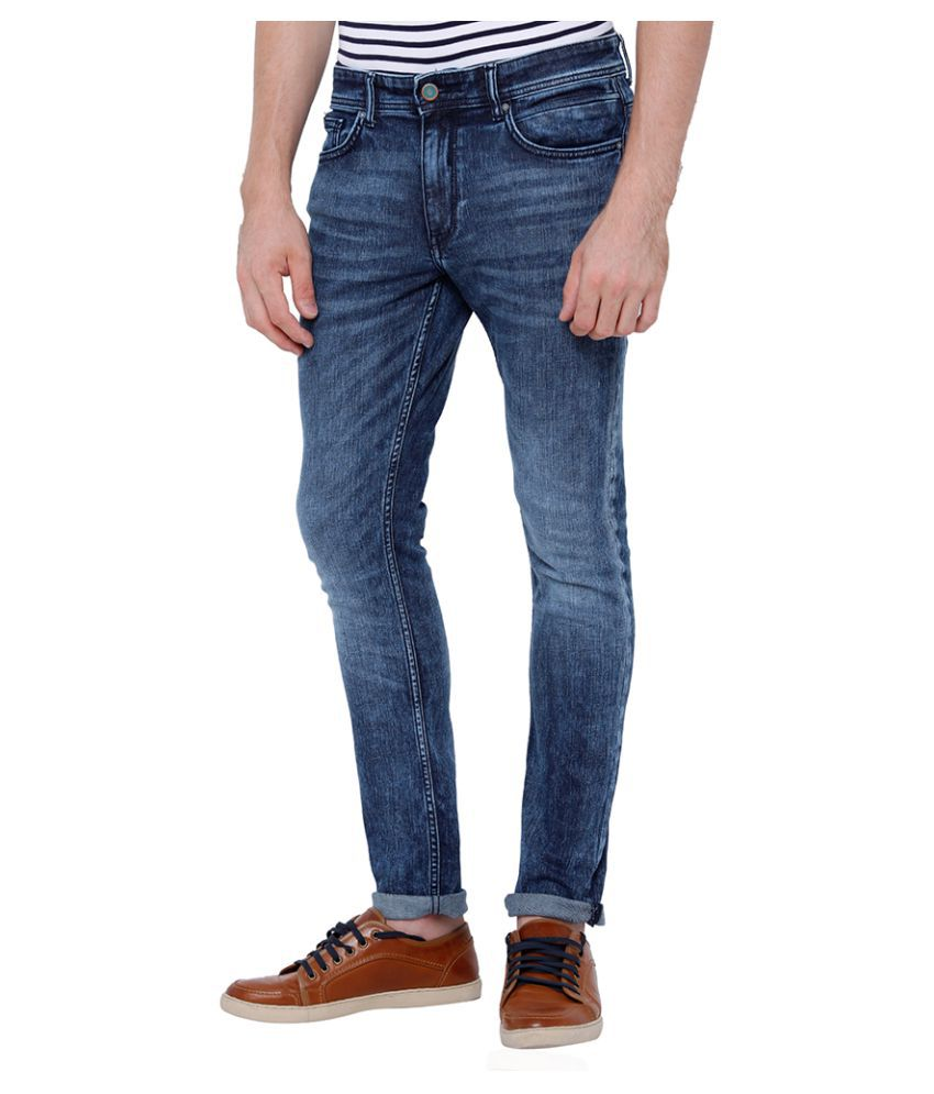 Locomotive Indigo Blue Slim Jeans