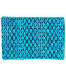Amit Carpet Single 40x60 Bath Mat Blue