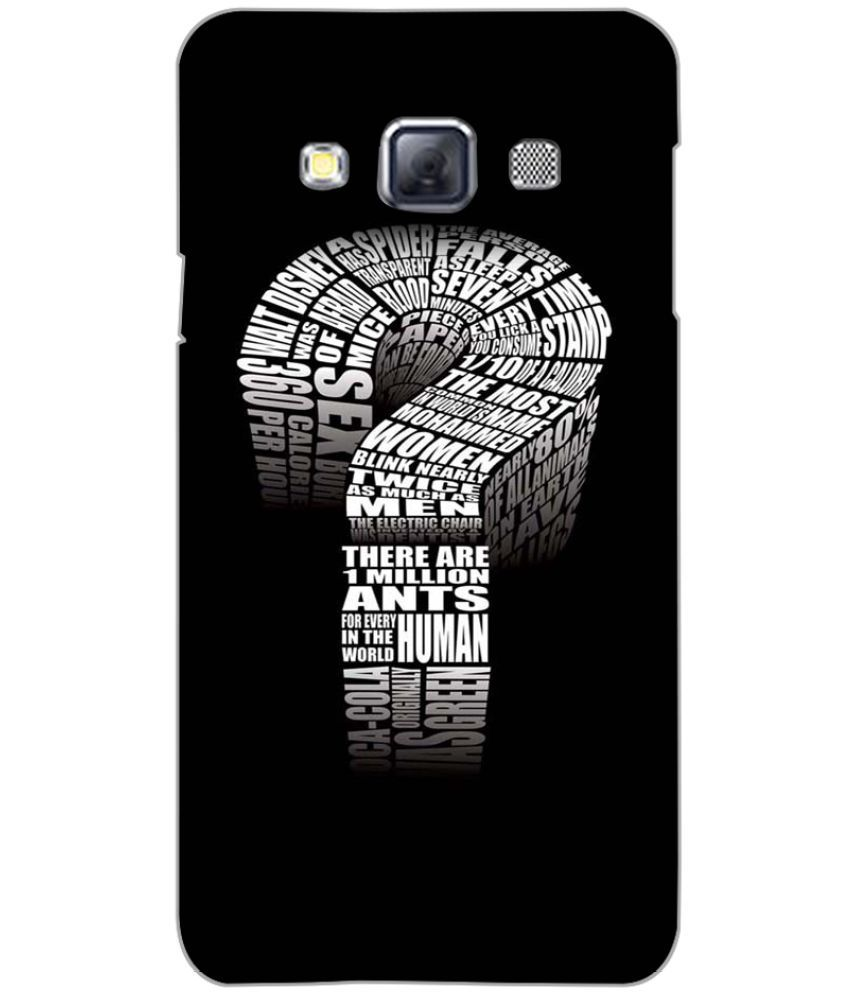 Samsung Galaxy A3 Printed Cover By PRINTSWAG