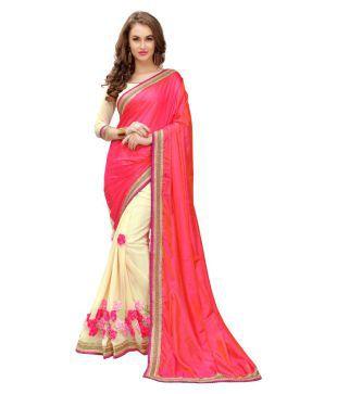 Panchratna Multicoloured Silk Saree