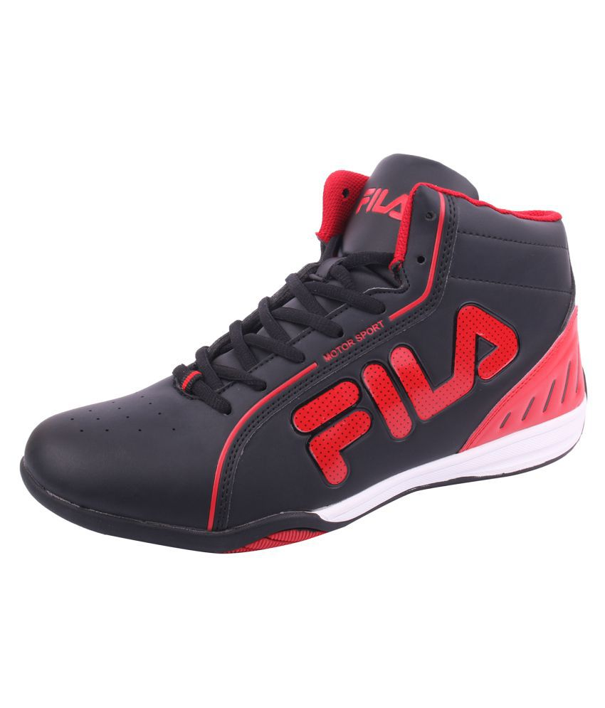 a8559b7d4414 Fila Lifestyle Black Casual Shoes - Buy Fila Lifestyle Black Casual Shoes  Online at Best Prices in India on Snapdeal