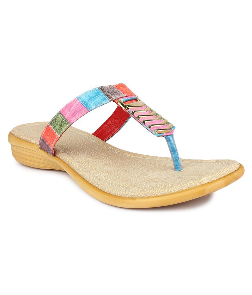Shezone Multi Color Flats