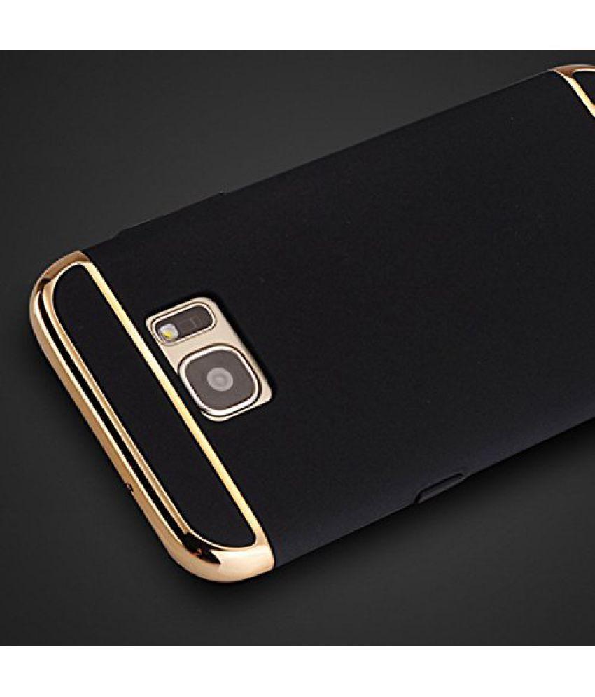 best sneakers 12742 a846e Samsung Galaxy C9 Pro Plain Cases SUNNY FASHION - Black