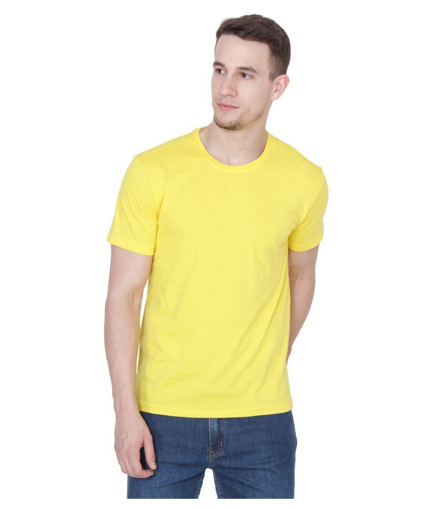 Ruse Yellow Round T-Shirt