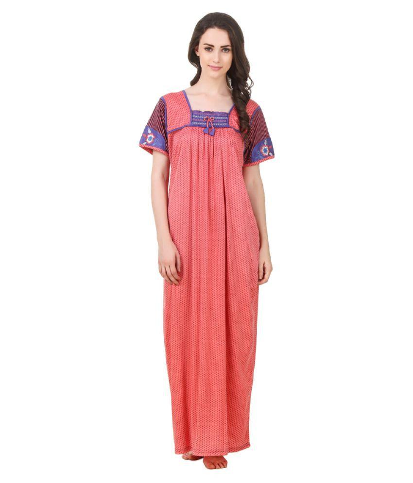 Arlopa Cotton Nighty & Night Gowns