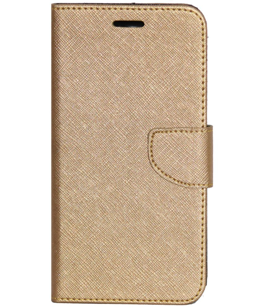info for f5760 7b8b5 Gionee A1 Flip Cover by Gizmofreaks - Golden
