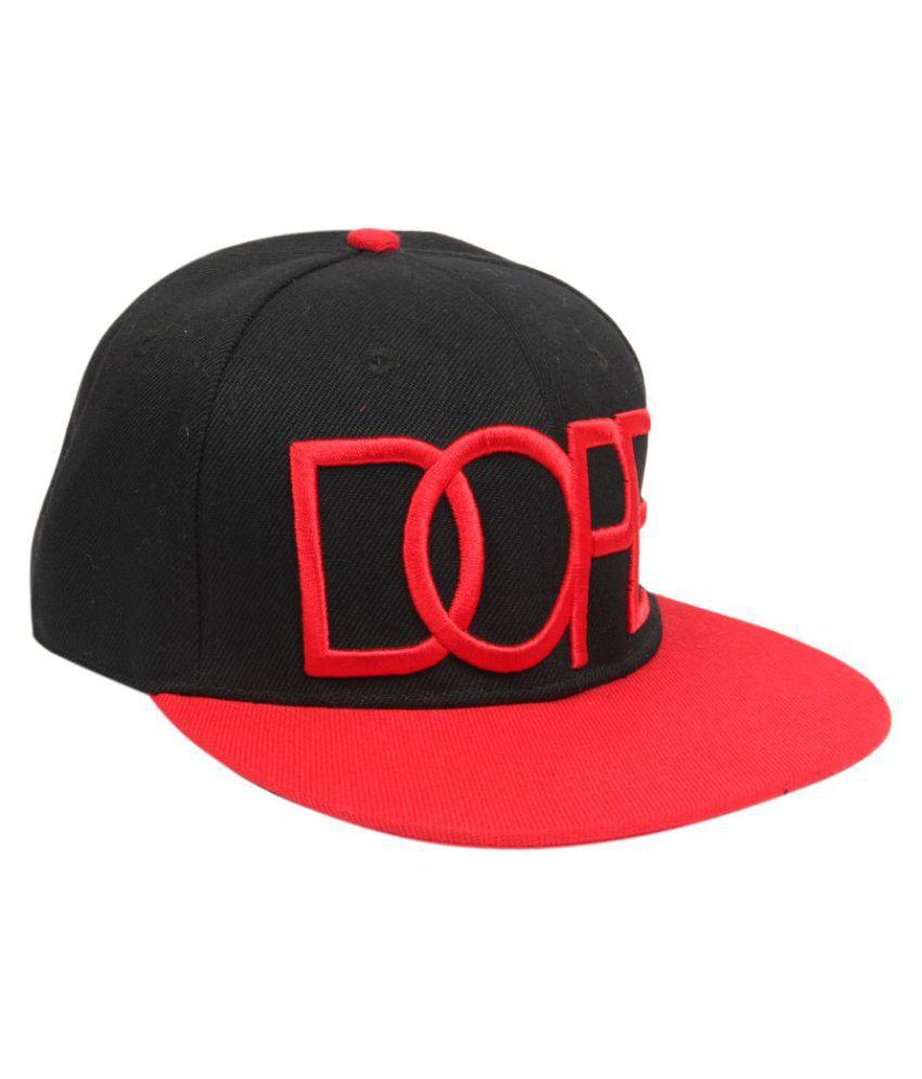 ILU Black Cotton Caps