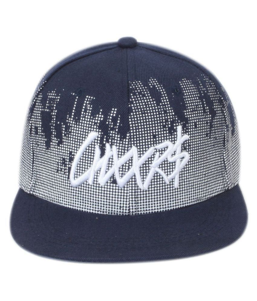 ILU Black Embroidered Polyester Caps