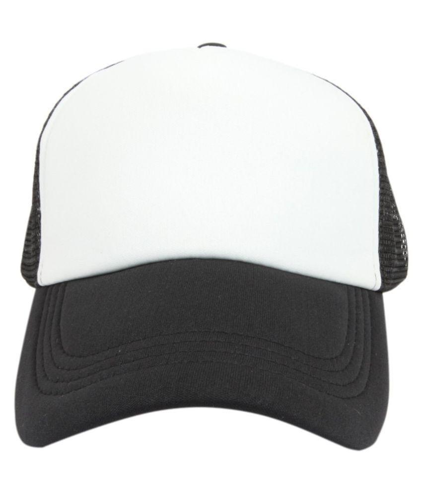 ILU White Plain Cotton Caps - Buy Online   Rs.  b2f1e5ac5639