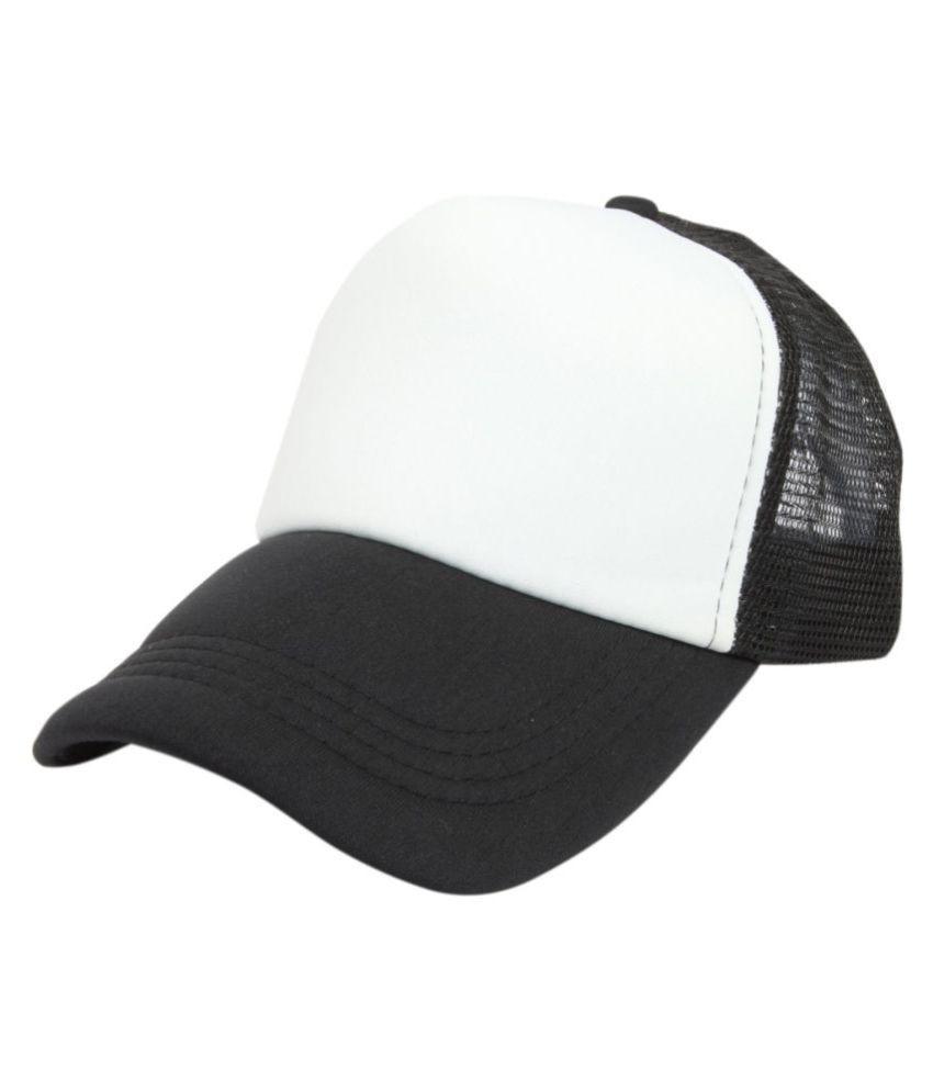 59860a2f0e6 ILU White Plain Cotton Caps - Buy Online   Rs.