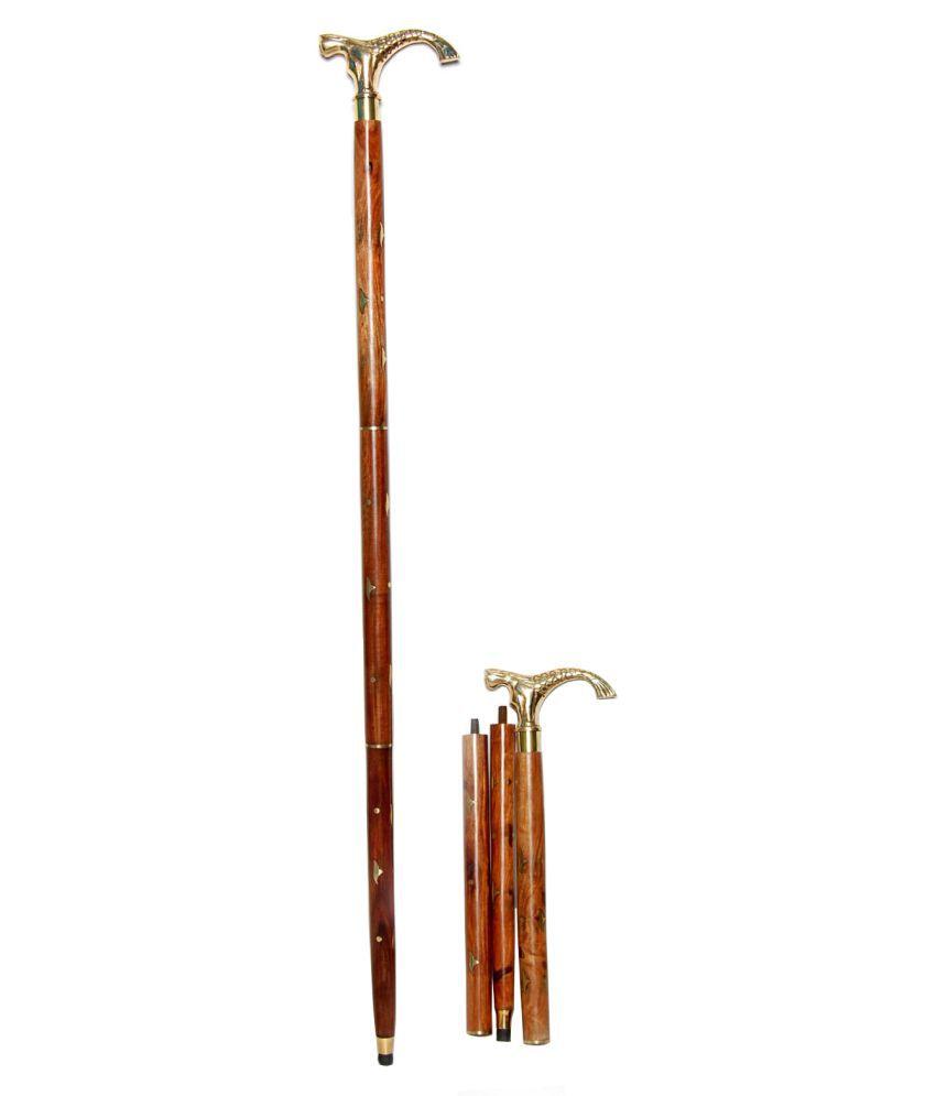 Royal Arts Exports Jal Pari Walking Stick Wood Walking Sticks