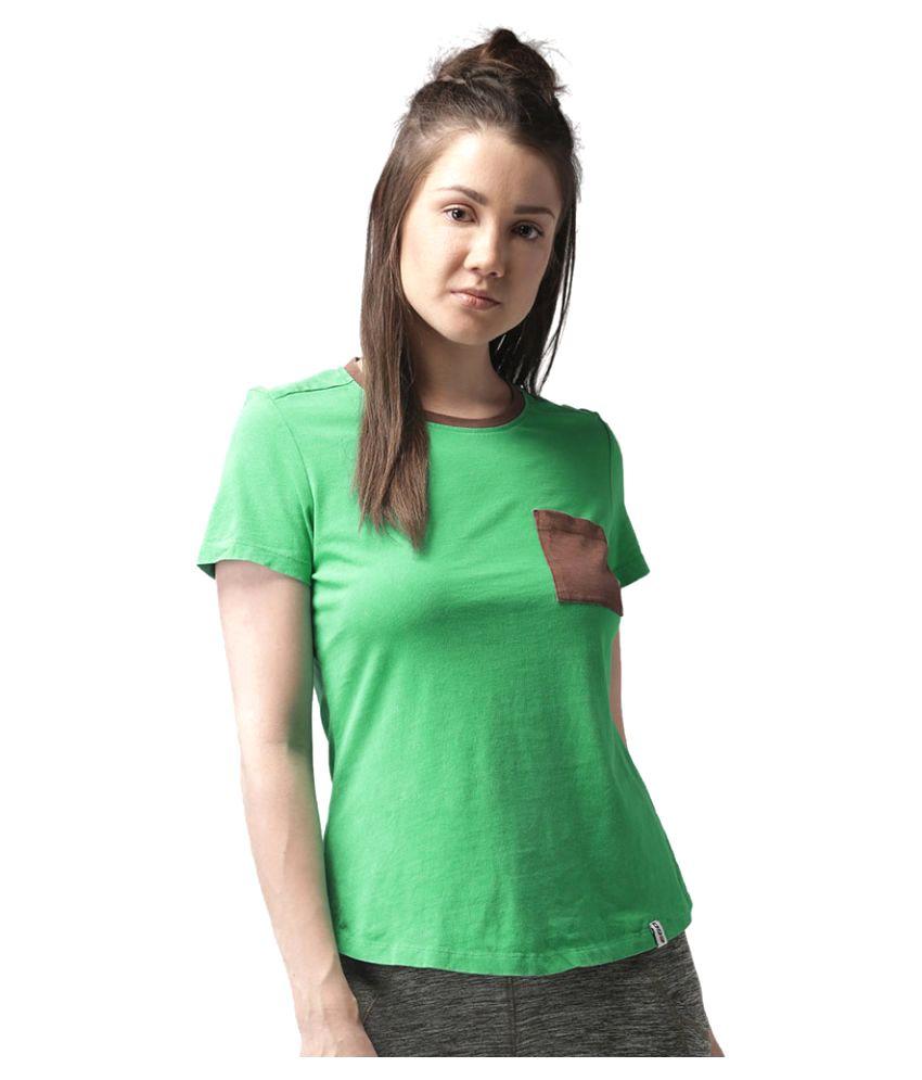 2GO Green Casual T-shirt