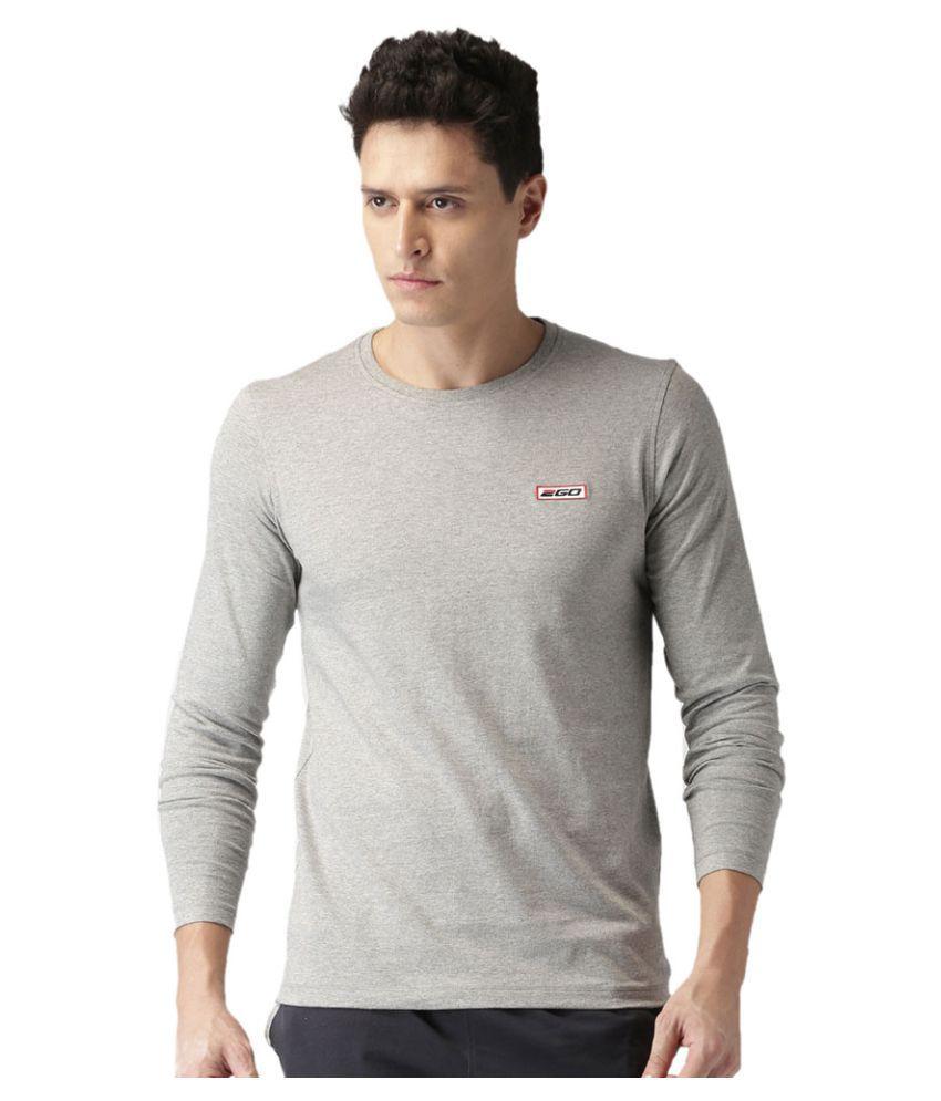 2GO Greymel Full sleeves Round Neck T-shirt
