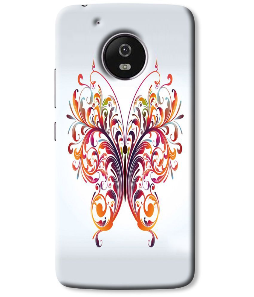 Moto G5 Plus Printed Cover By Cell First