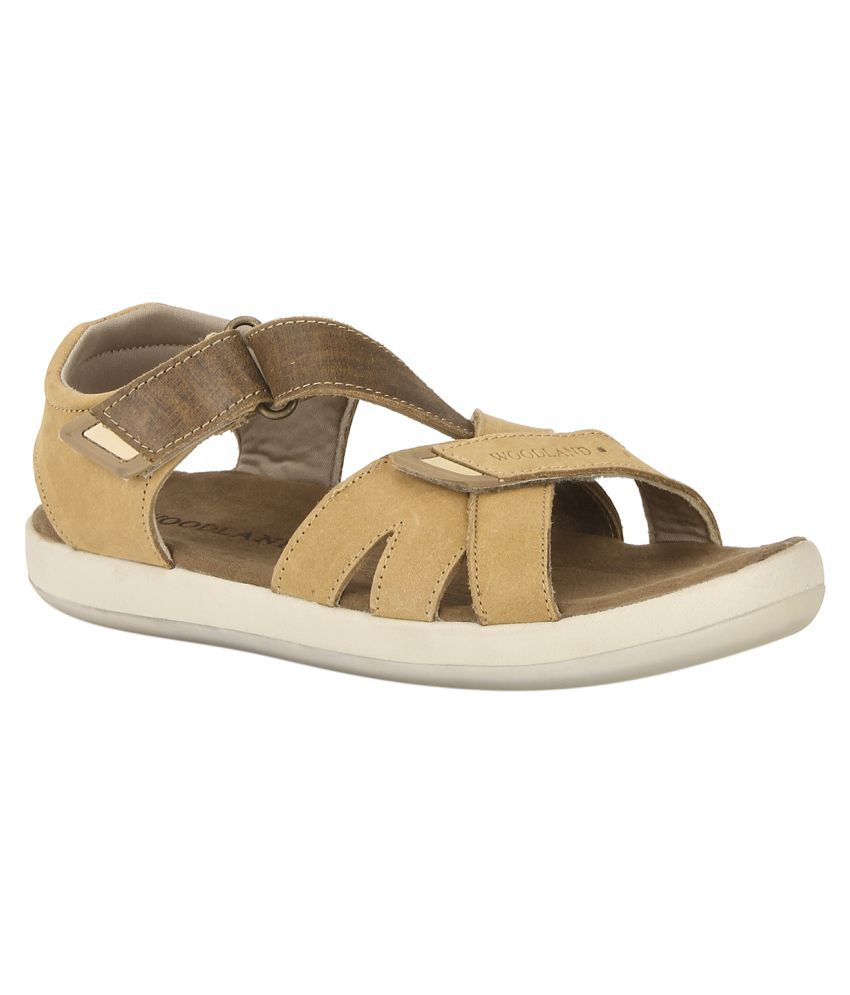 ea725835d19a Woodland GD 1889115 Camel Sandals Price in India- Buy Woodland GD 1889115  Camel Sandals Online at Snapdeal