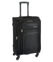 Pronto Black L(Above 70cm) Check-in Soft Luggage