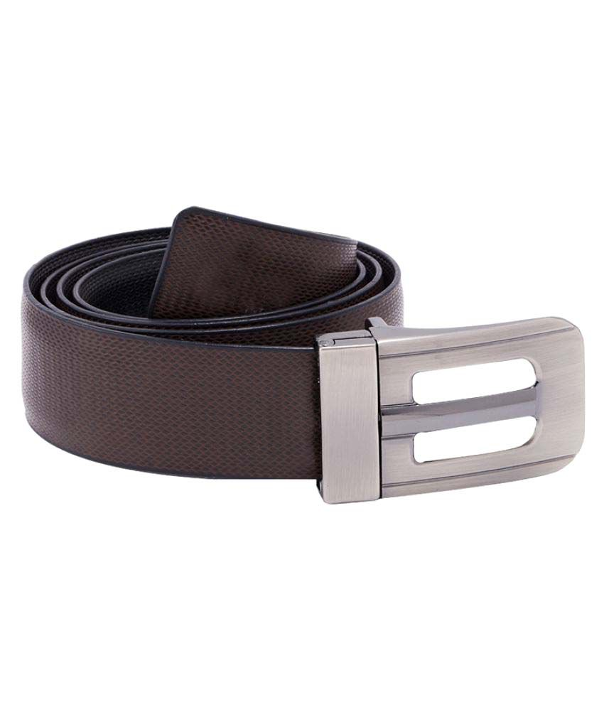 Dare Brown Leather Casual Belts