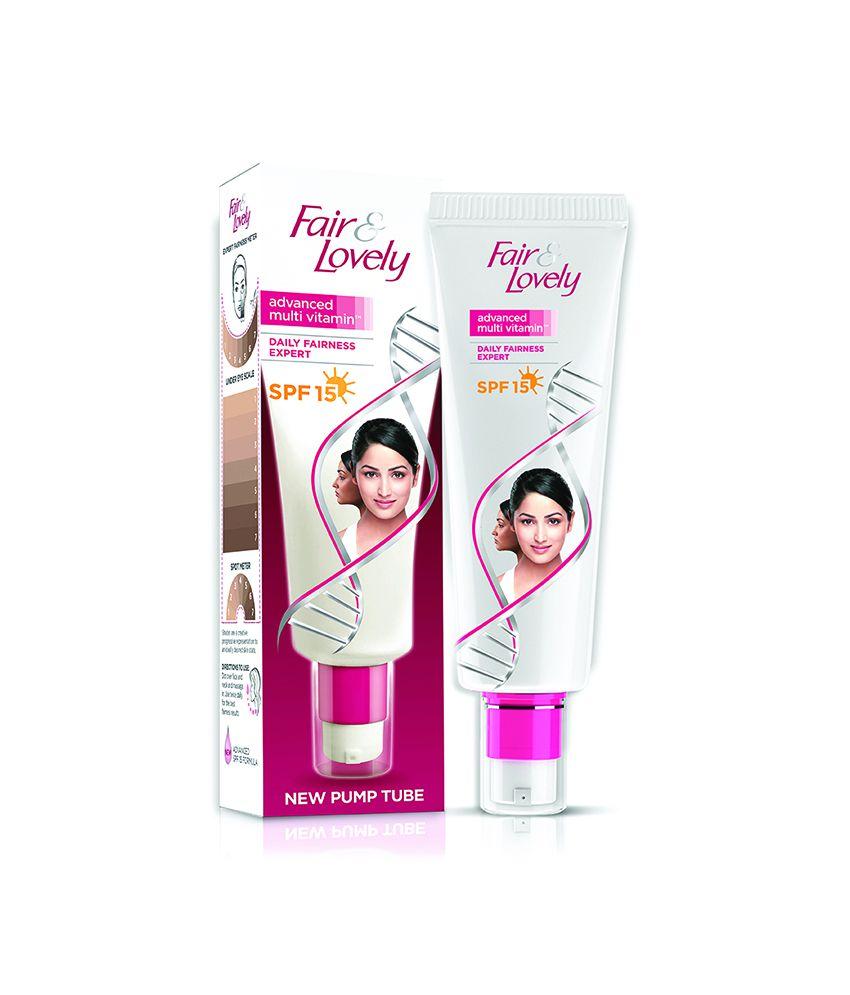 Fair & Lovely Advanced Multi Vitamin Spf 20 Face Cream Pump Tube 30 G