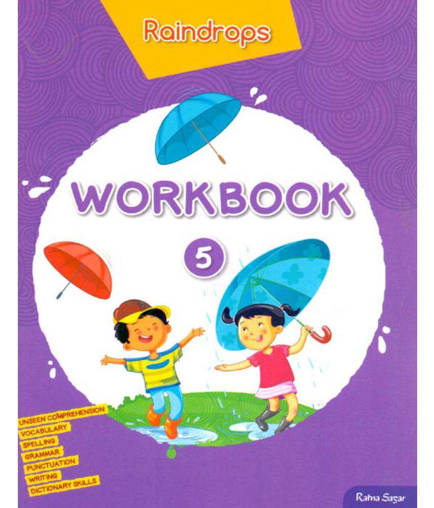 Raindrops English Work Book Class - 5