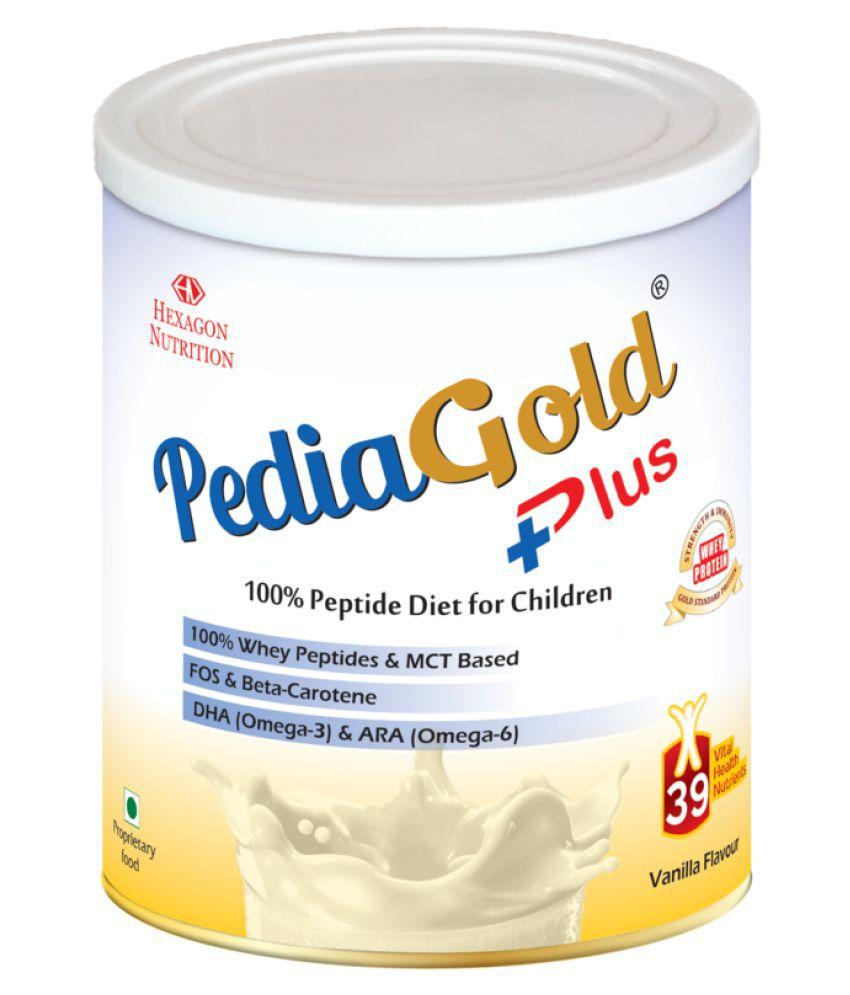 Pediagold Kids Peptide Nutrition Supplement  VANILLA 400 gm