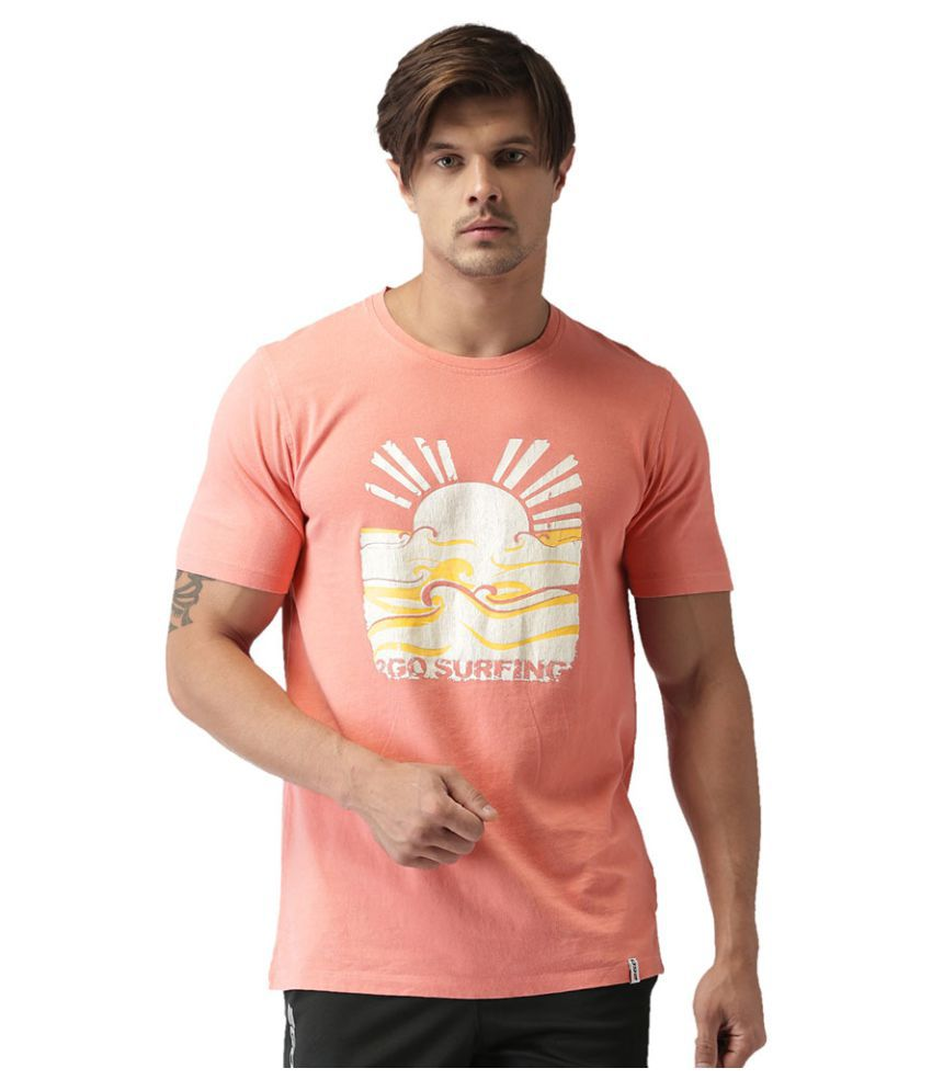 2GO Dubarry Round Neck Half sleeves Printed T-shirt