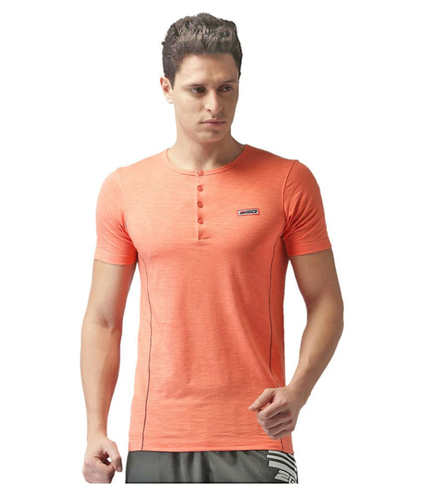 2GO Peach Half sleeves T-shirt