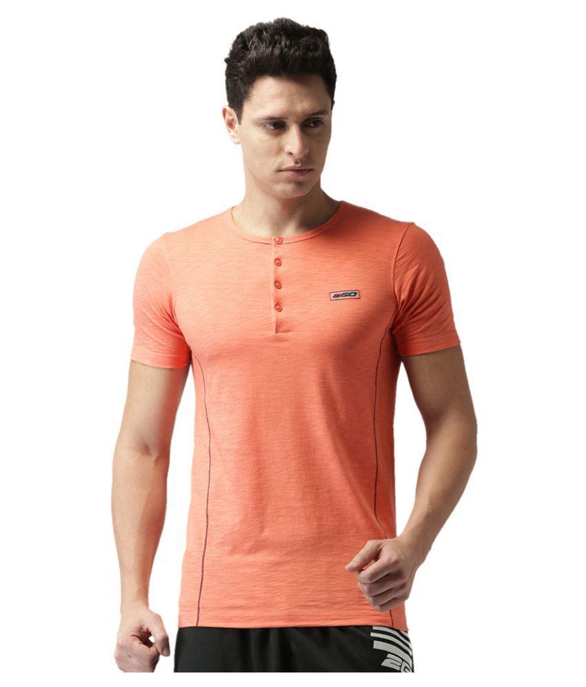 2GO Peach Half sleeves T-shirt