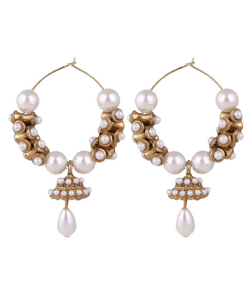 Parinaaz Ethnic Clip-on Earring for Girls and Women
